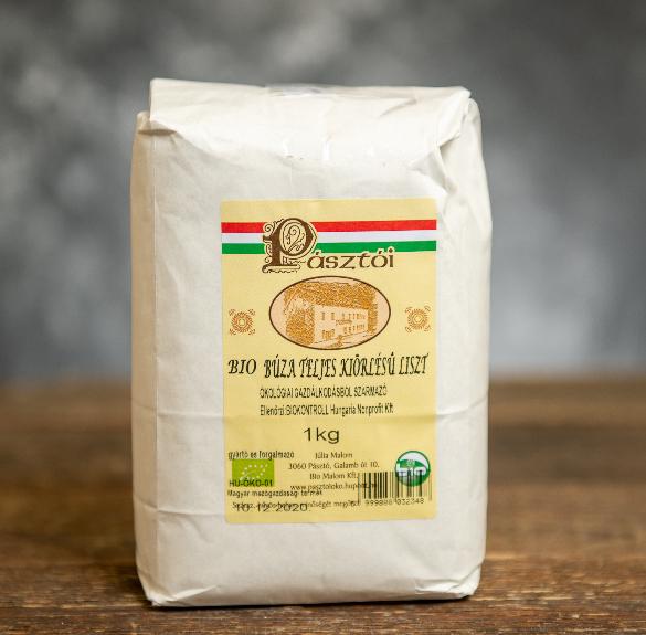 Bio teljes kiőrlésű búzaliszt - 1 kg