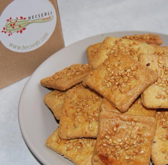 Bio kakukkfüves-szezámmagos keksz - 20 dkg