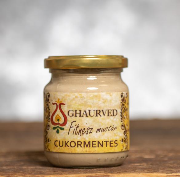 Fitness mustár  (cukormentes) -  20 dkg