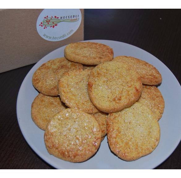 Bio narancsos-gyömbéres keksz - 20 dkg
