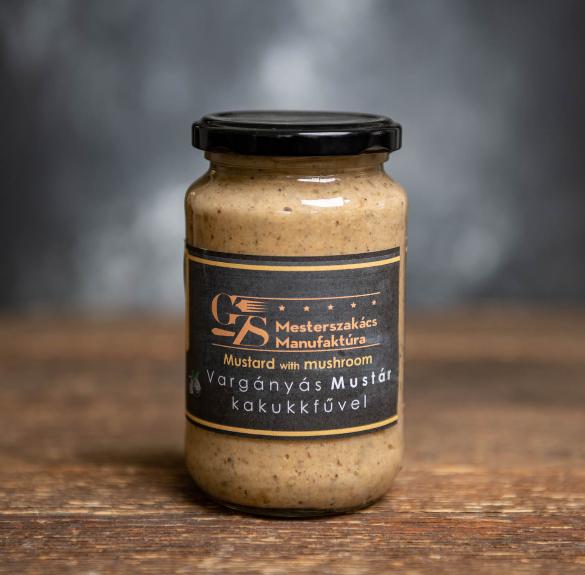 Vargányás mustár kakukkfűvel - 37 dkg