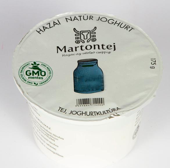 Natúr joghurt - 175 gramm