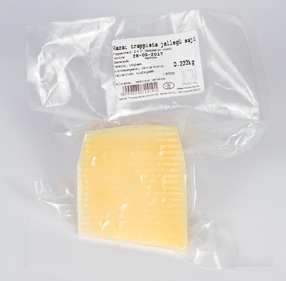 Trappista jellegű sajt - 25 dkg