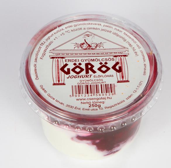 Görög erdei gyümölcsös joghurt - 250 g