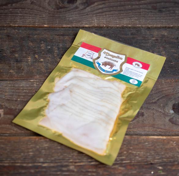 Mangalica füstölt fehérszalonna (szeletelt) - 100 g
