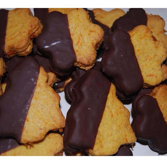 Bio fűszeres  sárgarépás-mandulás keksz - 25 dkg
