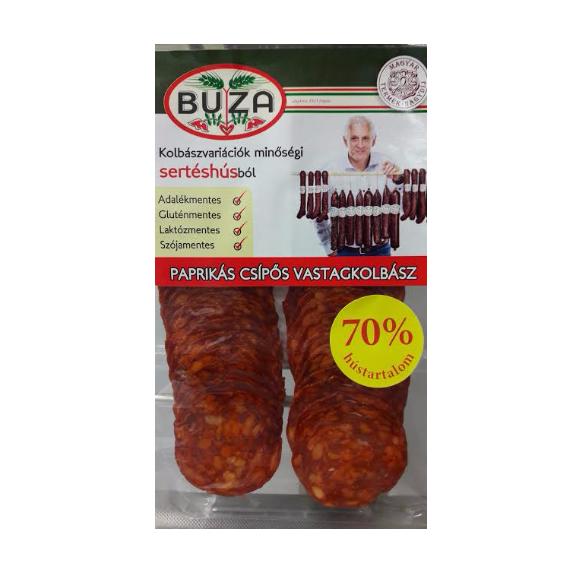 Paprikás csípős vastagkolbász (szeletelt) - 7 dkg