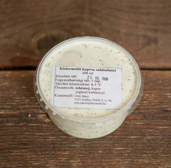 Kapros salátaöntet - 2 dl