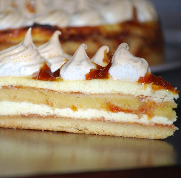 Bio Rákóczi túrós torta - Hecsedli - 18 cm