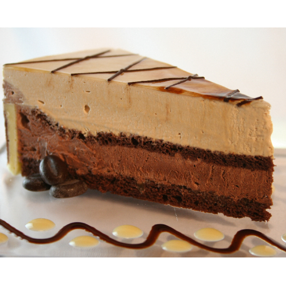 Bio cappuccino torta - Hecsedli - 18 cm
