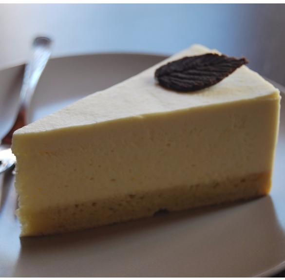 Bio fehércsokoládé mousse torta - Hecsedli - 18 cm