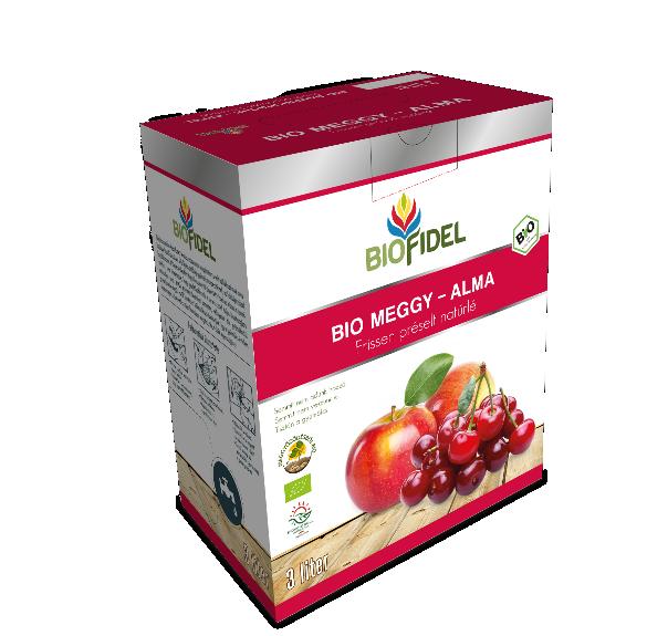 Bio alma-meggylé - 3 liter