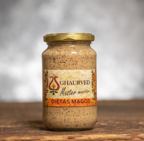 Mester (diétás magos) mustár - 35 dkg