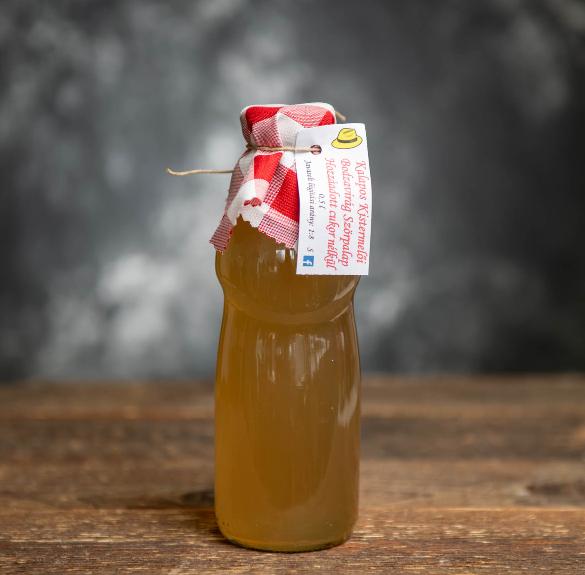 Cukormentes bodzavirág szörp - 0,5 l