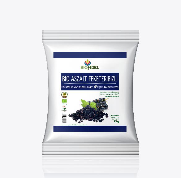 Bio aszalt feketeribiszke - 75 g