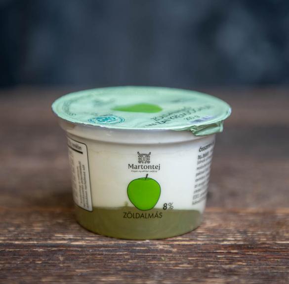 Habart zöldalmás joghurt-20 dkg