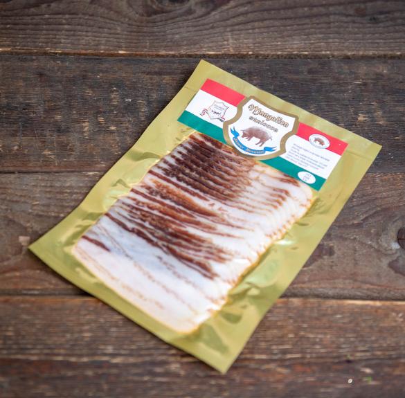 Mangalica füstölt császárszalonna (szeletelt) - 100 g
