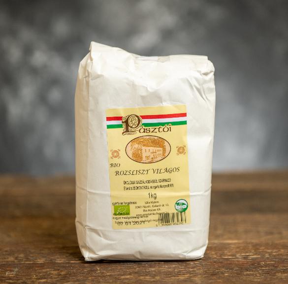 Bio világos rozsliszt - 1 kg