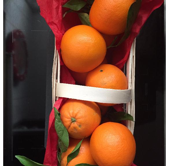 Kezeletlen narancs kosárban - 2,5 kg