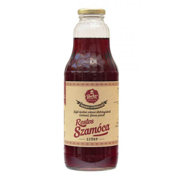 Prémium Rostos Szamócaszörp - 1 liter