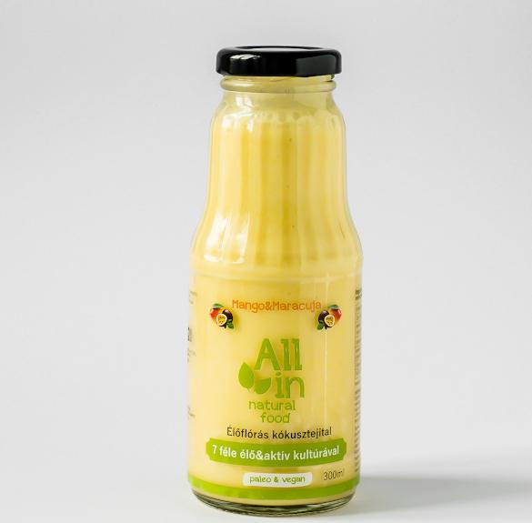 Mangós-maracujás kókusztejital - 300 ml