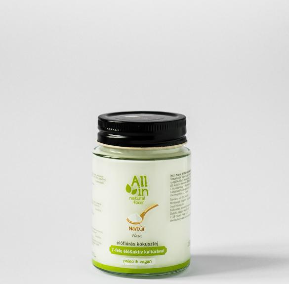 Natúr kókusztejjoghurt - 150 ml