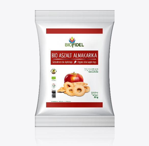 Bio aszalt almakarika - 30 g