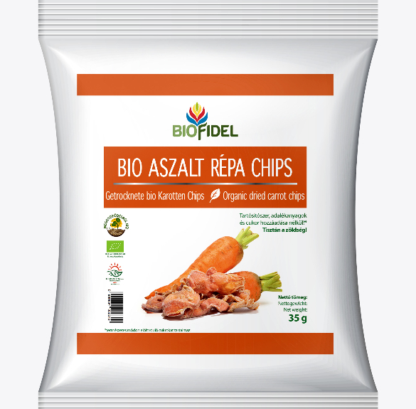 Bio aszalt sárgarépa - 35 g