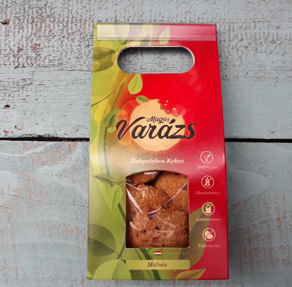 Málnás zabpelyhes keksz mandulalisztből - 60 g