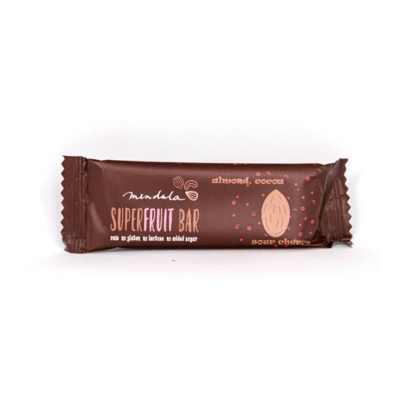 Paleo mandulás-kakaós-meggyes szelet - 40 g