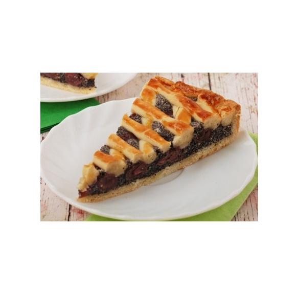 Bio meggyes-mákos pite (vegán) -18 cm