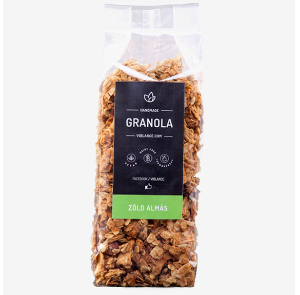 Zöldalmás granola - 250 g