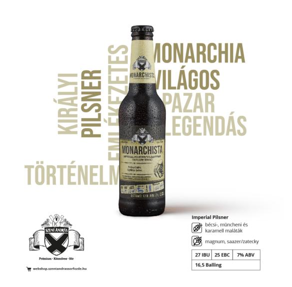 Monarchista sör - 0,33 l