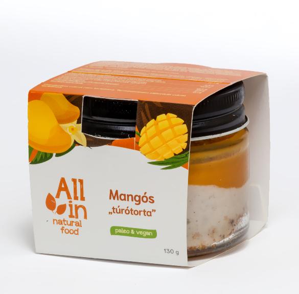 Mangós túrótorta - 130 g