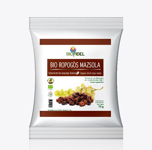 Bio ropogós mazsola - 75 g
