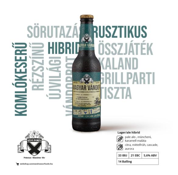 Magyar Vándor - 0,33 l