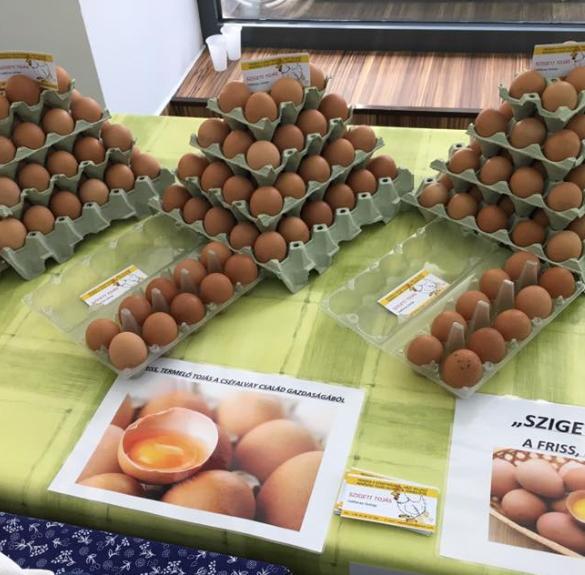 Mélyalmos tojás (L-es méretű) - 10 db
