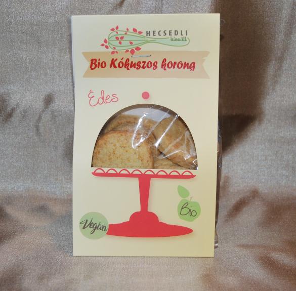 Bio Kókuszos korong 150 g