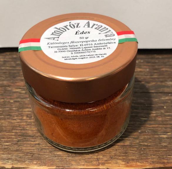 Különleges édes fűszerpaprika - 50 g