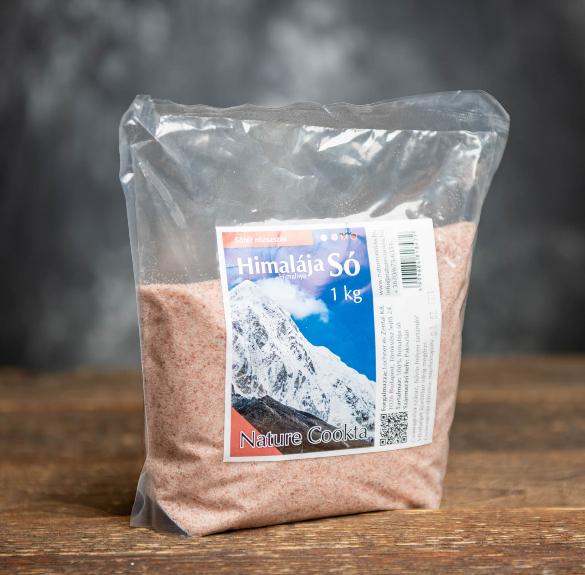Himalája halványrózsaszín só  - 1 kg