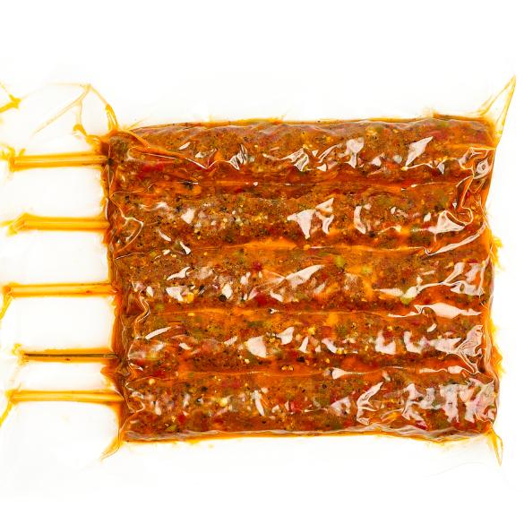 Fűszeres csevapcsicsa - 5 nyárs kb. 60 dkg