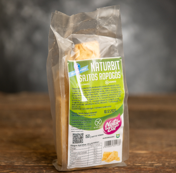 Naturbit sajtos ropogós - 150 g