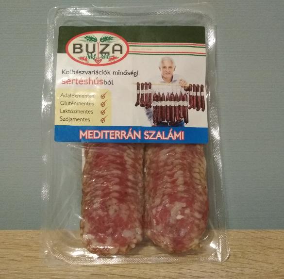Mediterrán szalámi (szeletelt) - 70 g
