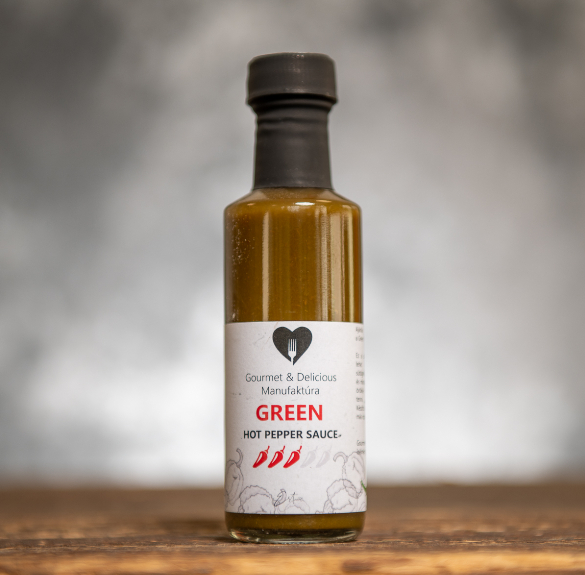 Green habanero chili szósz - 100 ml