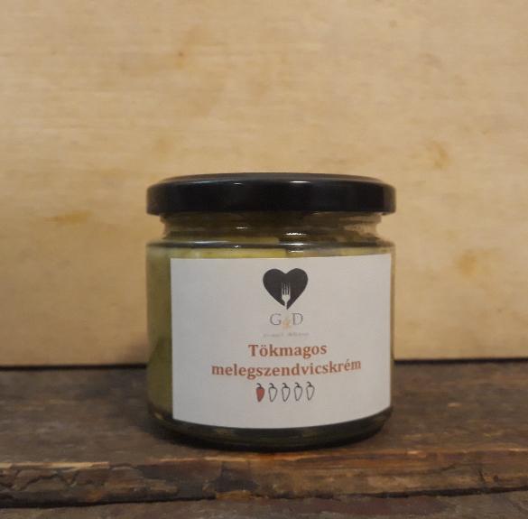 Tökmagos melegszendvicskrém -  250 g