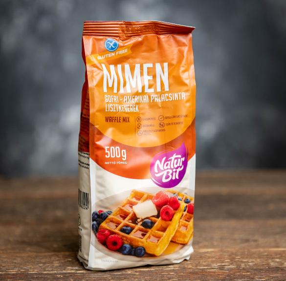 Mimen Gofri-Amerikai Palacsinta lisztkeverék (glutén- és laktózmentes) - 500 g