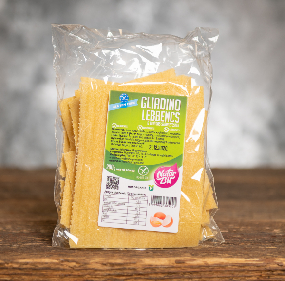 Gliadino gluténmentes lebbencs tészta - 200 g