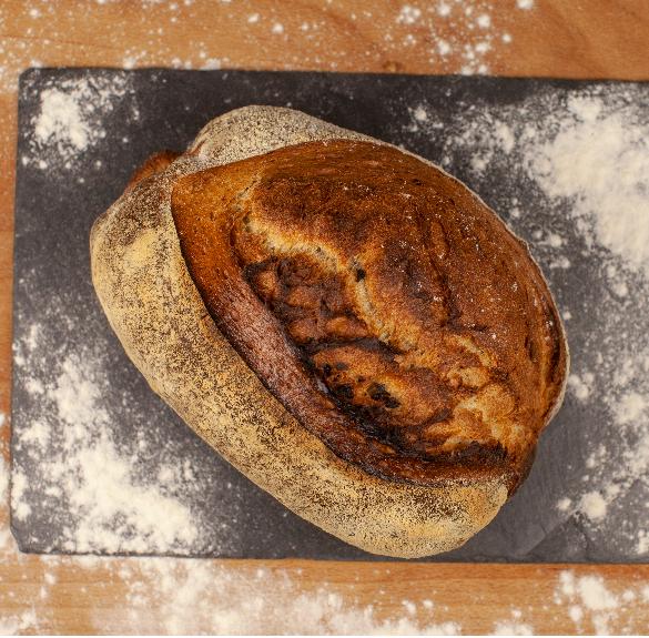 Félbarna vadkovászos kenyér - 0,5 kg