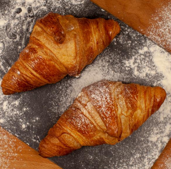 Vajas croissant - 2 db