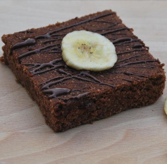 Bio banános brownie (minden mentes) - 100 g